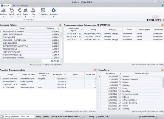 Pylon KPI Grammateia